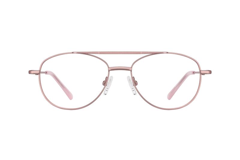 bce93ebac4 Rose Gold Aviator Glasses  419119