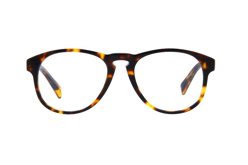 79714a96f68 Tortoiseshell van der Rohe Aviator Eyeglasses  4419925