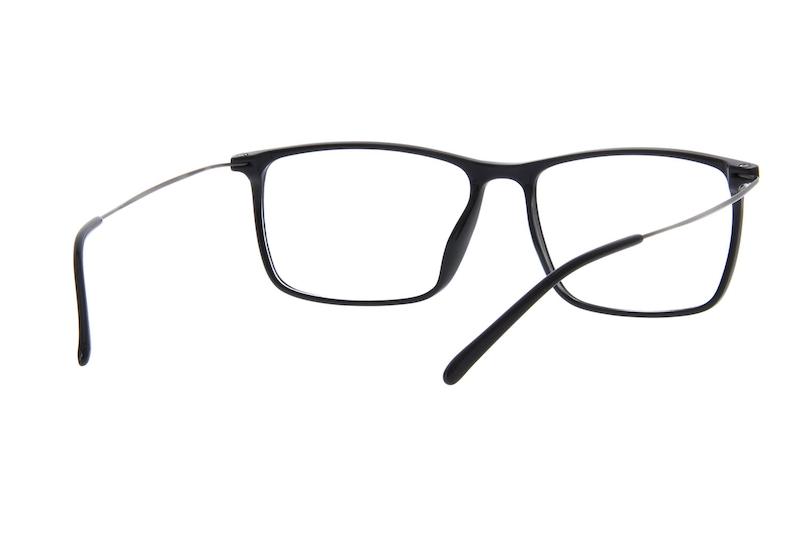 91ae6aaf88d Black Rectangle Glasses  7808421