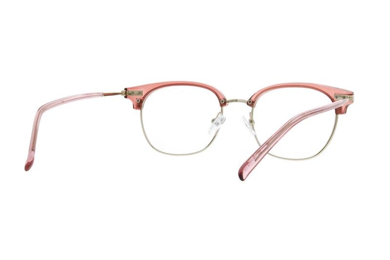 f05a71276e6 Pink Browline Glasses  7815919