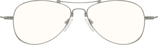 735938929d Silver Aviator Glasses  170511