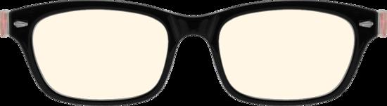 98bbcd78d8ab Black Rectangle Glasses #259321