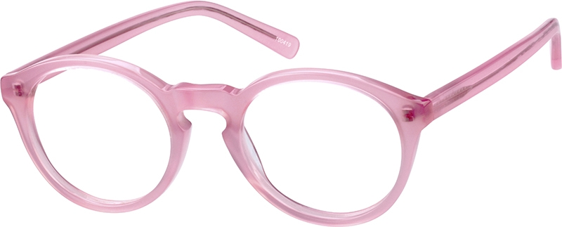 8ab7f3e5bb Pink Round Glasses  100419