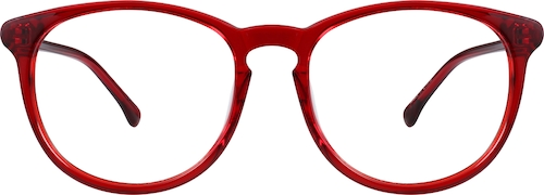 Red Round Glasses