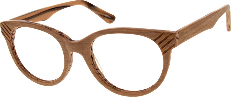c3906cb45f9 Wood Texture Round Glasses  101715