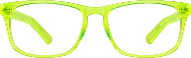 Orange Square Acetate Eyeglasses #102222