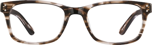 Brown Larkspur Eyeglasses