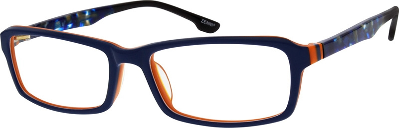 Blue Acetate Full-Rim Frame #103216