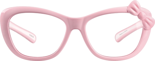 Pink Kids' Cat-Eye Glasses