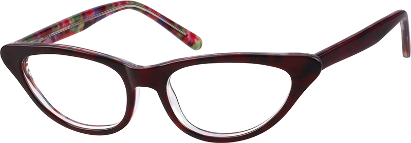 038e815eda Red Cat-Eye Glasses  111018