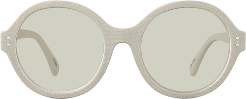 Cream Premium Round Sunglasses