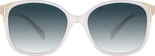 White Premium Square Sunglasses
