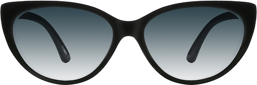Black Premium Cat-Eye Sunglasses
