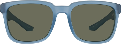 Blue Premium Square Sunglasses