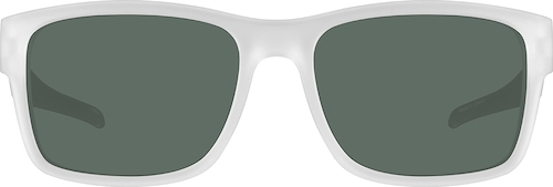 Clear Premium Rectangle Sunglasses