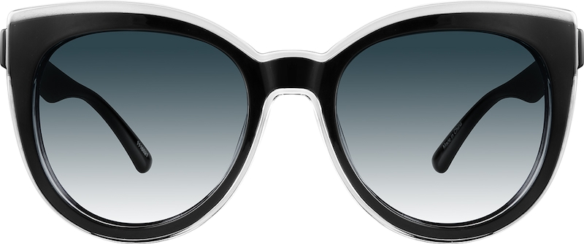 5ae81fec55670 Black Premium Cat-Eye Sunglasses  1116521