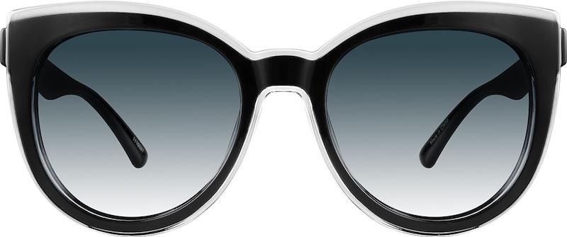 84e492ea09cc Black Premium Cat-Eye Sunglasses  1116521