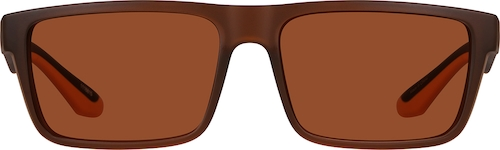 Brown Premium Rectangle Sunglasses