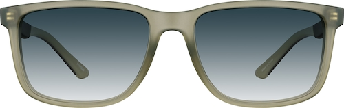 Olive green Premium Rectangle Sunglasses