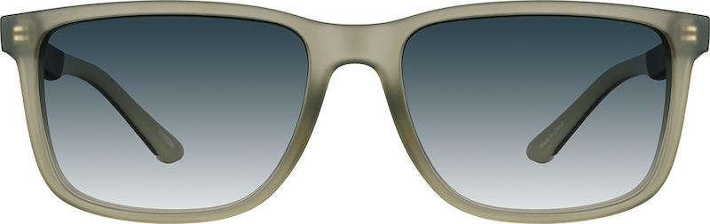 7f2f21bedb Green Premium Rectangle Sunglasses  1117024