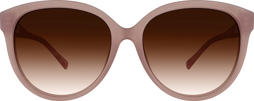 Dusty Rose Premium Cat-Eye Sunglasses