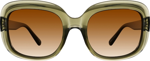 Green Premium Square Sunglasses