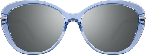 Blue Premium Cat-Eye Sunglasses