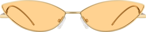 Gold Premium Cat-Eye Sunglasses