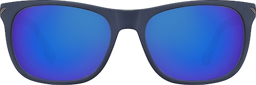 Blue La Brea Square Sunglasses