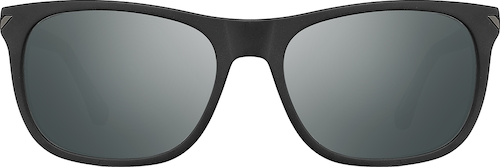 Black La Brea Square Sunglasses
