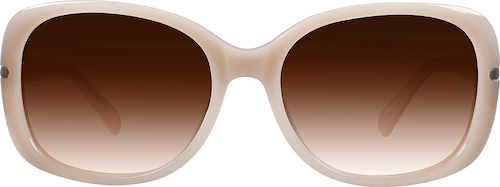 Cream Premium Square Sunglasses