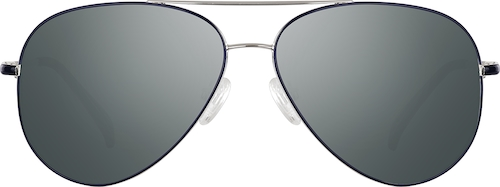 Blue Premium Aviator Sunglasses