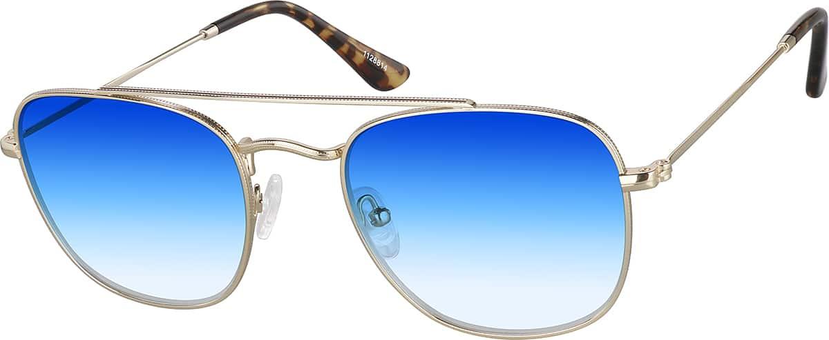 Sunglasses1128814Zenni Eyeglasses Aviator Premium Gold Optical Y7gbf6y