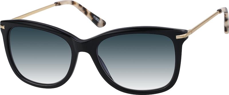 166a08b909 Black Premium Square Sunglasses  1130221