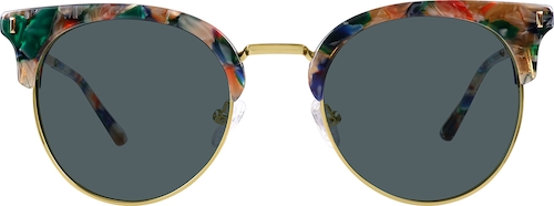 Pattern Premium Browline Sunglasses