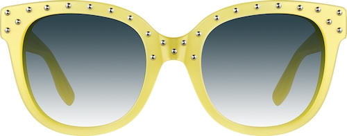 Yellow Premium Cat-Eye Sunglasses
