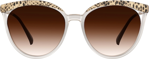 Brown Premium Cat-Eye Sunglasses