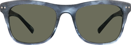 Midnight Premium Square Sunglasses