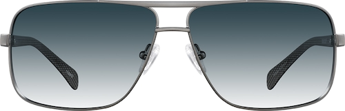 Gray Premium Aviator Sunglasses