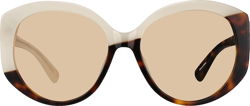 Cream Premium Geometric Sunglasses