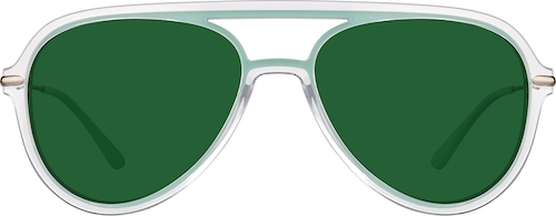 Mint Premium Aviator Sunglasses