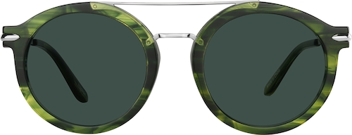 Green Premium Aviator Sunglasses