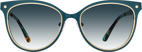 Cerulean Premium Cat-Eye Sunglasses