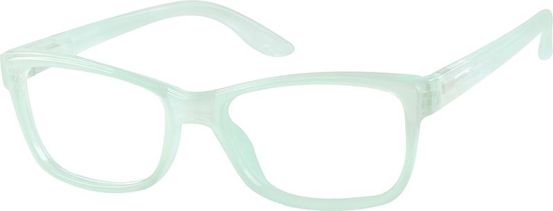 Purple Rectangle Eyeglasses #122517