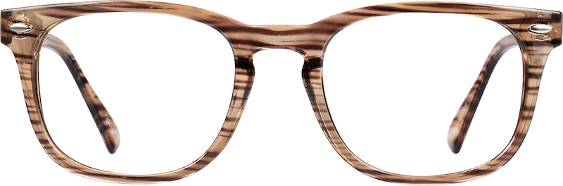 944bce1ea280 Brown Square Glasses  123415