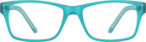 Azure Rectangle Glasses