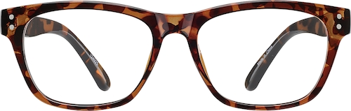 Tortoiseshell Square Glasses