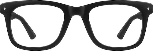 Black Square Glasses