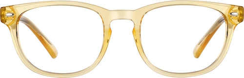 Sunflower Oval Glasses