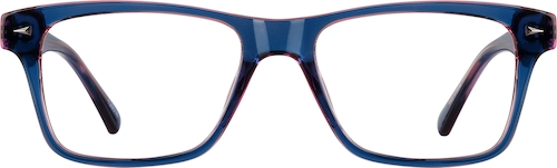 Midnight blue Square Glasses